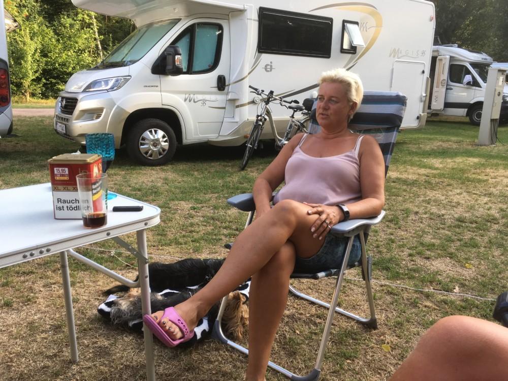 Nackt im camper