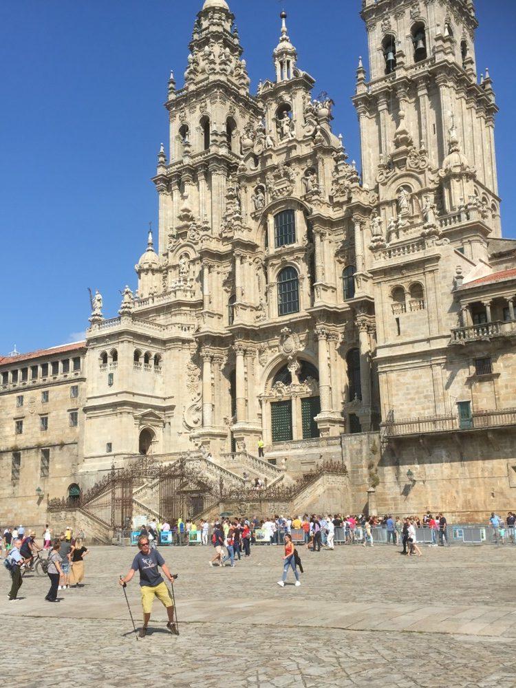 Kathedrale von Santiago de Compostela. Beeindruckend, oder?